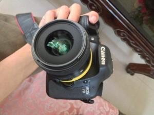 Body máy ảnh 7D đã chụp 5k shot bán với giá 8tr5