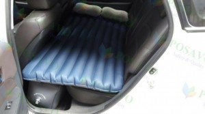 Lắp đặt nệm hơi ô tô xe hyundai i30 cho anh thiết loại dù oxford màu xanh ở quận 1 tp. Hồ chí minh