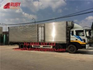 Chuyên vận chuyển máy móc-thiết bị đi Campuchia- Chành xe Ruby