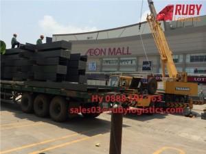 Vận chuyển máy móc - thiết bị đi Campuchia
