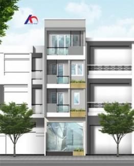 Cho thuê nhà MT Nguyễn Văn Đậu, Q.BT, (DT: 4x26m, trệt, 2 lầu, st). Giá: 45tr/th