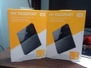HDD 2TB WD Ultra Passport USB 3.0, 2.5 giá chỉ 2300k, Model mới 2017