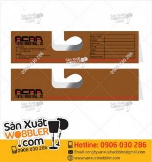 Hanger giấy móc vải, Sample Hanger, bảng kẹp vải mẫu