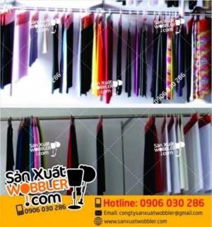 Mẫu hanger giấy, hager móc vải