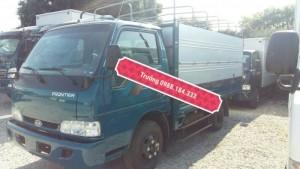Xe Kia k165 thùn mui bạt màu xanh dương