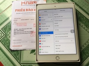 iPad mini 4 16gb onlywifi màu gold fullbox