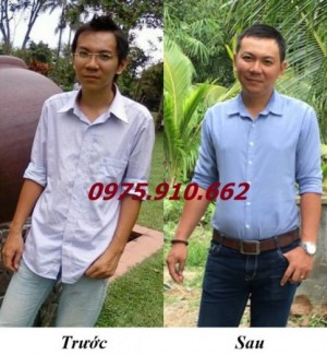 Trước và sau khi sử dụng viên Vitamin Wisdom weight