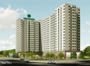 Căn hộ Zen Tower giá rẻ 650tr/căn tại Quốc Lộ 1A, Q12
