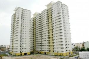 Cần cho thuê gấp căn hộ An Phú, Q.6, dt 82m2, 2 phòng ngủ, nhà đẹp thoáng mát , giá thuê 9.5 triệu/tháng
