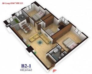 Bán căn hộ chung cư tại dự án Sapphire Palace, Thanh Xuân, 87m2 giá 28 triệu/m².