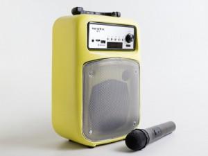 Loa kéo Bluetooth, Loa xách tay SOUNDMAX M-1 Nhỏ Gọn, Âm Thanh Ấn Tượng, tặng kèm mic không dây - MSN181162