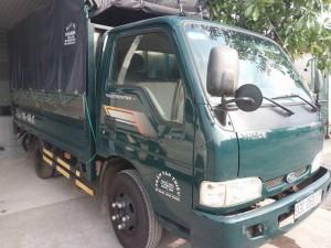 Kia  k140 tải 1t4 thùng bạt năm 2014