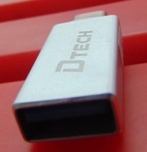 Đầu đổi TYPE C sang USB 3.0 âm Dtech (T0001)