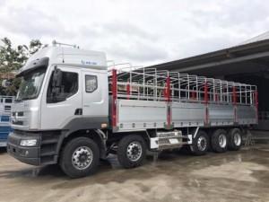 Xe tải chenglong 5 chân thùng nhôm