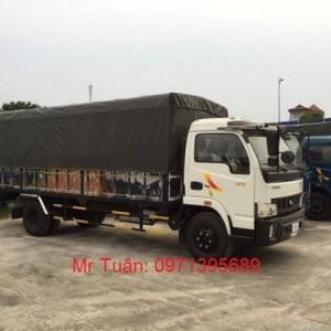 Xe VT490 động cơ Hyundai 130PS, thùng dài 6m1...