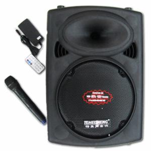 Loa kéo di động F607 Kết Nối Bluetooth thiết kế cực kì nhỏ gọn, Âm Thanh Cực Hay - TẶNG KÈM 2 MIC KHÔNG DÂY - MSN181163