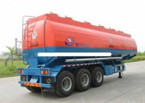 Bán rơ mooc Doosung chở xăng dầu 39m3 2017 khuyến mãi 100% phí đăng kiểm