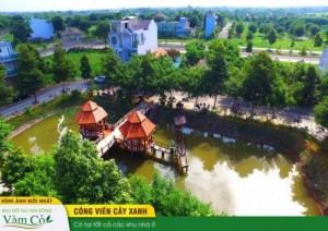 Đất Nền Khu Đô Thị Ven Sông Vàm Cỏ- Chỉ 600Tr/nền