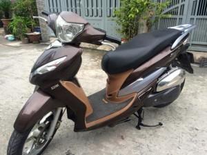 SYM Shark 125cc , nguyên zin, máy êm,màu nâu