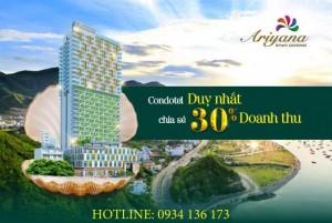 HOT! Sở hữu căn hộ Ariyana nha trang view biển với giá chỉ từ 1.5 tỷ.