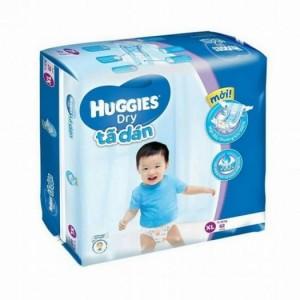 Tã Dán Huggies Dry XL62 freeship