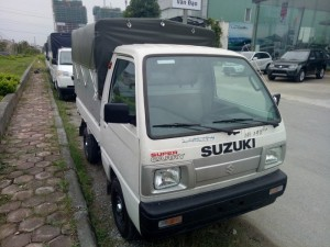 Bán gấp xe Suzuki Super Carry Truck Euro 4 đời 2017 tại Hà Nội, xe giao ngay