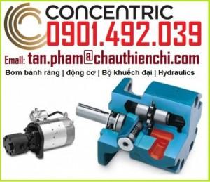 Concentric Việt Nam Bơm Bánh răng Động cơ xi lanh thủy lực khí nén
