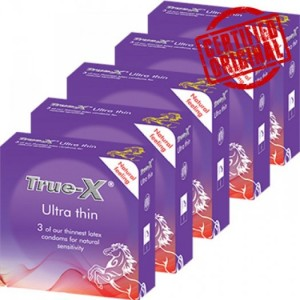 Combo 5 hộp Bao cao su siêu mỏng Ultra Thin