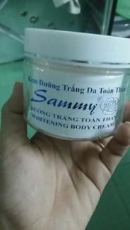 Kem trắng da toàn thân cao cấp SAMMY
