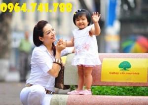 Bảo hiểm tiết kiệm giáo dục cho con trẻ Cathay Life Việt Nam, Mã SP - C12, liên hệ,
