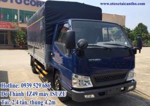 xe tải IZ49 máy isuzu thùng mui bạt