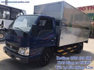 iz49 máy isuzu thùng kín