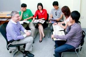 Học trực tiếp với người nước ngoài