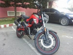 Kymco K - Pipe 125 Kiểu Dáng Ducati Tuyệt Đẹp Odo 6000 Km