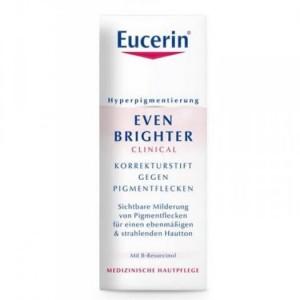 Điều trị nám, tàn nhang theo điểm Eucerin EVEN BRIGHTER Korrekturstift - Giải pháp đúng đắn để điều trị hiệu quả các vết thâm và giảm tình trạng da tăng sắc tố (tàn nhang, nám,…), mang lại làn da đồng màu hơn chỉ sau bốn tuần sử dụng.