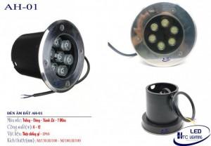 Đèn âm đất HTC 001