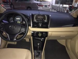 Toyota Vios 1.5 số sàn - tự động 2017  giao ngay.Tặng phụ kiện 60tr + Bảo hiểm VC