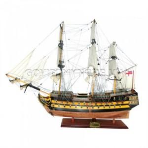 Mô Hình Thuyền Gỗ Chiến Cổ HMS Agamemnon 75cm - GIá 2.700.000₫