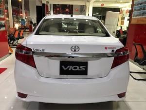 Bán Toyota Vios 1.5E CVT, số tự động, 2017,...