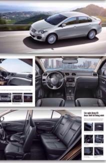 Bán ô tô Suzuki Ciaz, Màu Trắng 2017 nhập khẩu, giá rẻ