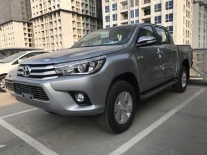Khuyến Mãi Mua xe Toyota Bán Tải Hilux 2.8G 2017 Số tự động 2 Cầu Màu bạc Nhập Thái Lan. Mua Trả Góp Chỉ 190Tr