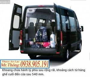 Bán xe khách - Xe Hyundai H350 - Mini Bus 16 chỗ THACO - CN AN LẠC