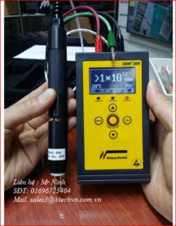 Máy đo điện trở bề mặt SRM 200/ SRM 100
