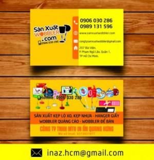 In danh thiếp, card visit, name card giá rẻ Quận 10