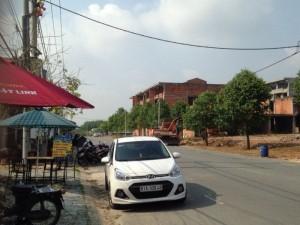 Cần Bán Đất MT KDC Chợ Đại Phước, Nhơn Trạch, ĐN, Giá 650tr/Nền