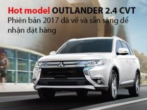 All new Outlander 2.4 CVT