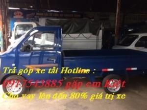 Bán trả góp xe tải DongBen tải trọng 870 kg,...