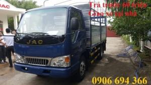 Xe tải jac 2T4 vào thành phố
