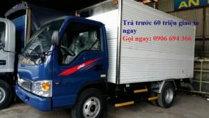 Xe tải jac 2 tấn 4 thùng kín