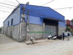 Bán nhà xưởng đường Phù Lưu - Tràng Minh - Kiến An, DT 418m2,